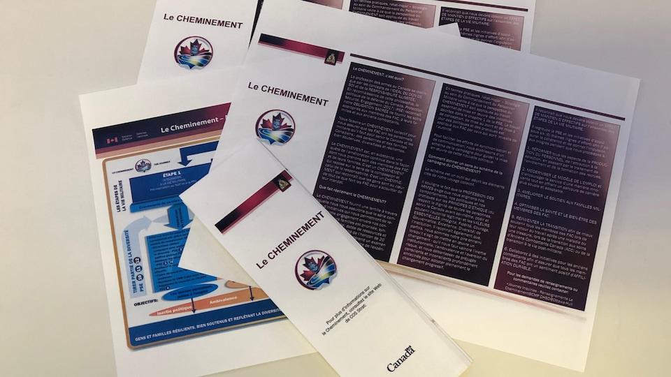 Documents officiels de la Défense nationale détaillant les objectifs de la réforme.