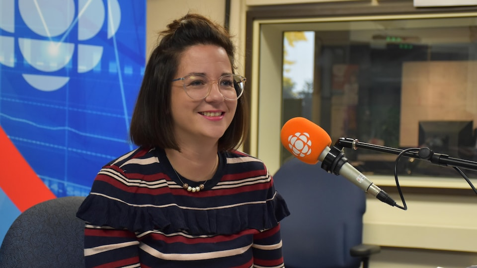Myriam Bouchard en entrevue.