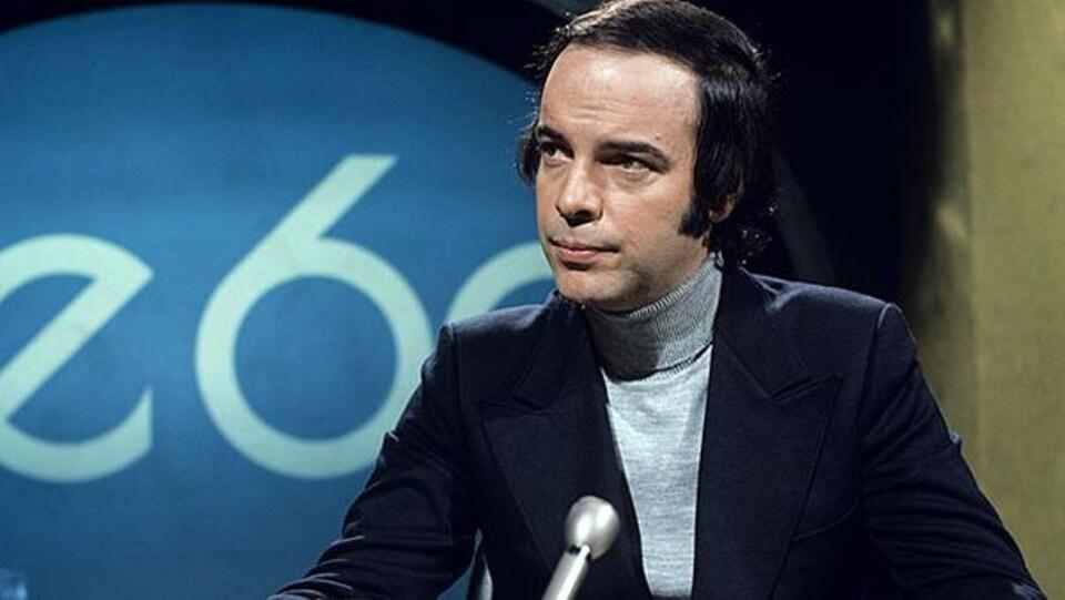 Pierre Nadeau au magazine Le 60 en 1973.