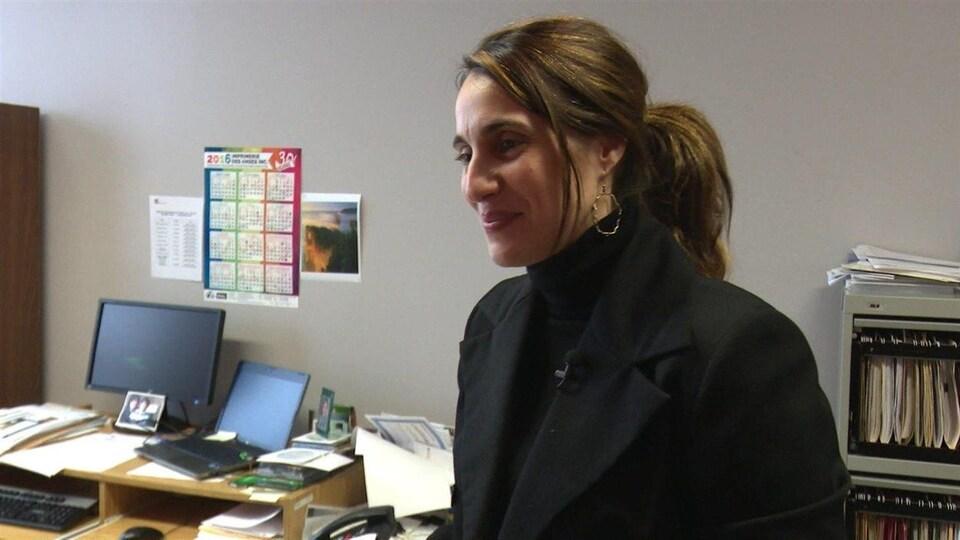 Lapréfète de la MRC du Rocher-Percé, Nadia Minassian
