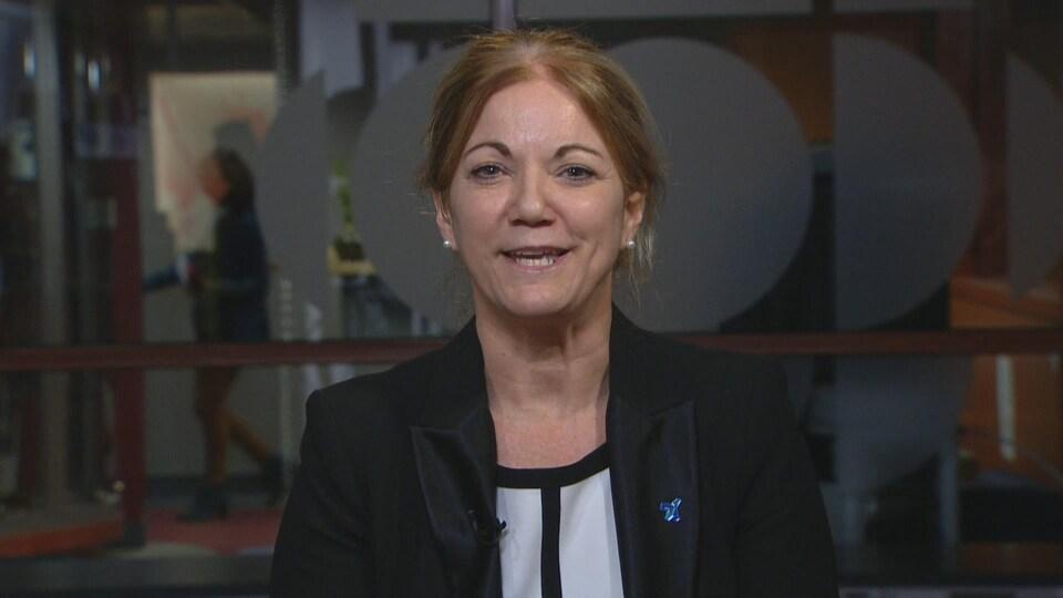 Nancy Brousseau, directrice générale de la Fédération des établissements d'enseignement privés
