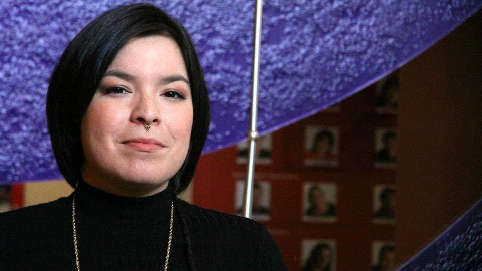 L'artiste multidisciplinaire et militante Natasha Kanapé-Fontaine