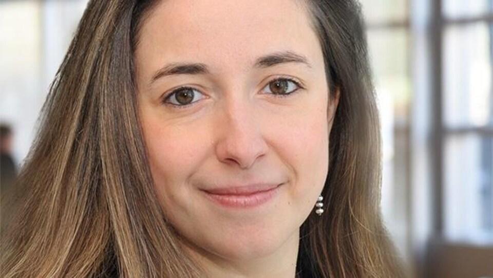 Une photo de Nathalie Sinclair-Desgagné.