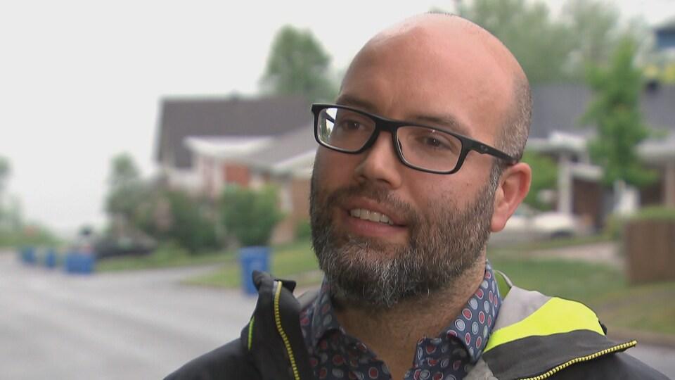 Nicolas Potvin, directeur régional de la Ruche Québec