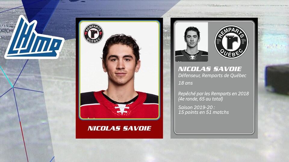 Nicolas Savoie, 18 ans, Remparts de Québec