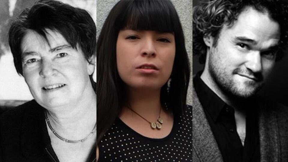 Nicole Brossard, Natasha Kanapé Fontaine, Thomas Hellman