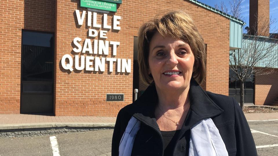 La mairesse de Saint-Quentin, Nicole Somers.