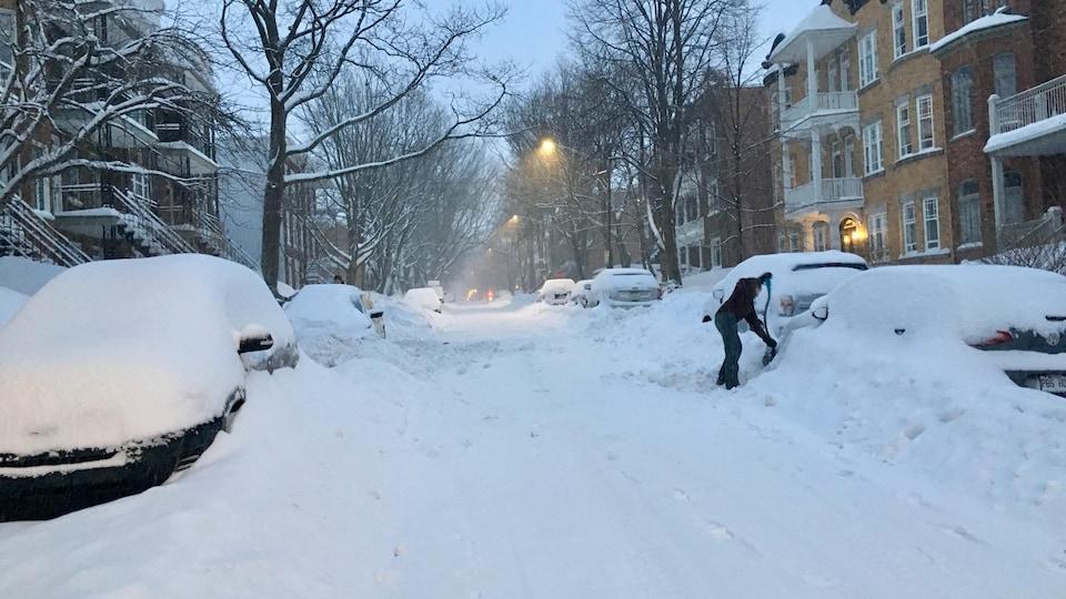 Québec a reçu plus de 300 cm de neige depuis le début de la saison.