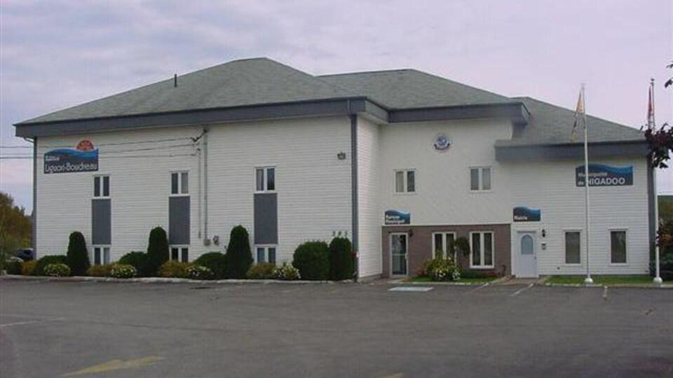 L'édifice municipal de Nigadoo.