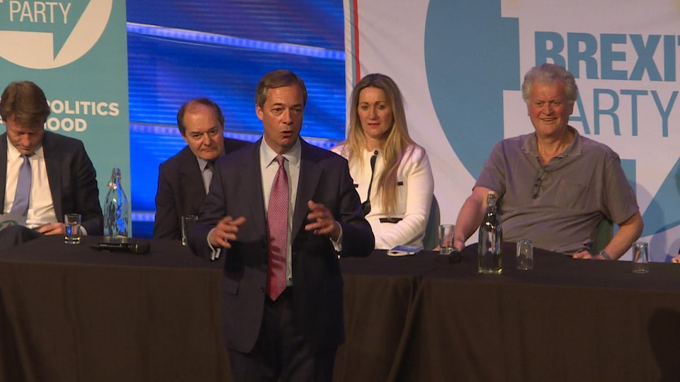 Nigel Farage, fondateur du Brexit Party.