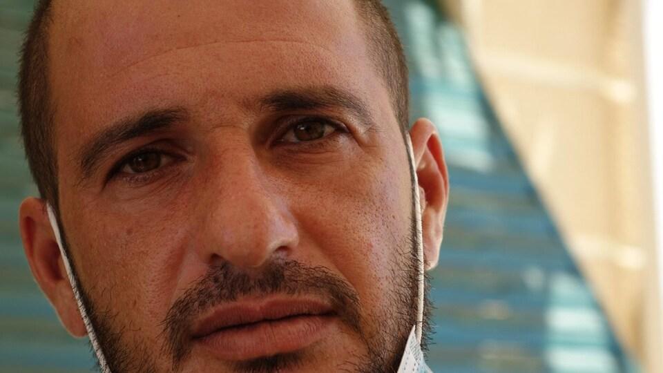 Portrait de Nizar Taouargi.
