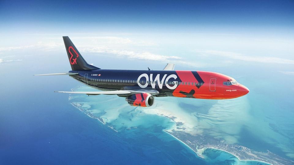 Un appareil OWG dans le ciel.