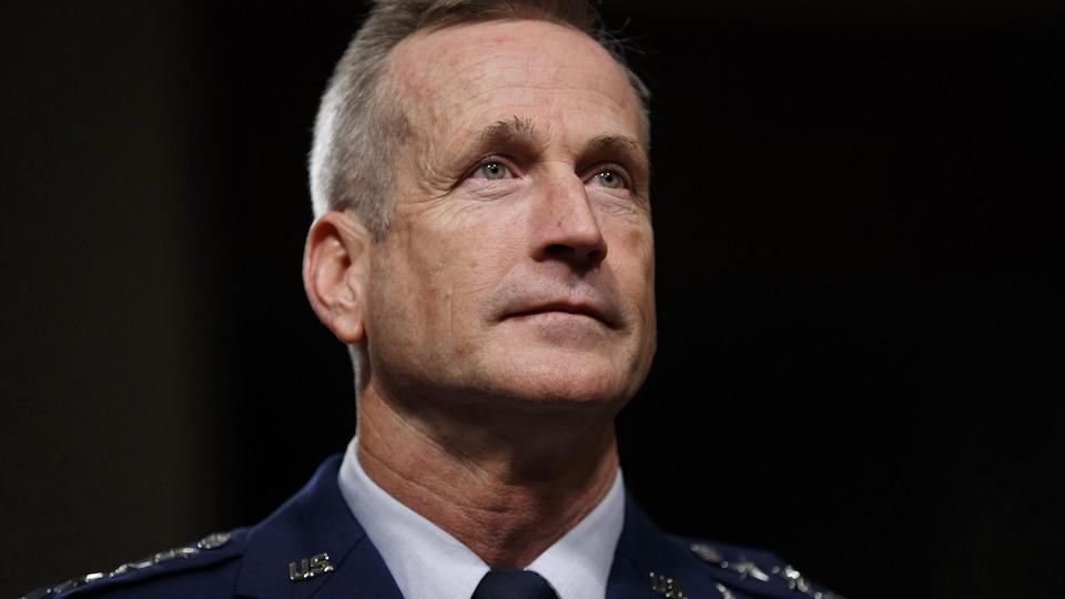 Une photo du général américain Terrence John O'Shaughnessy