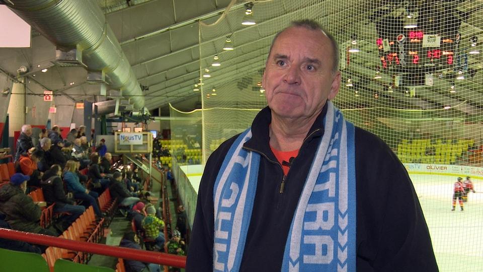 Le vice-président hockey du tournoi Fer-O, Normand Côté