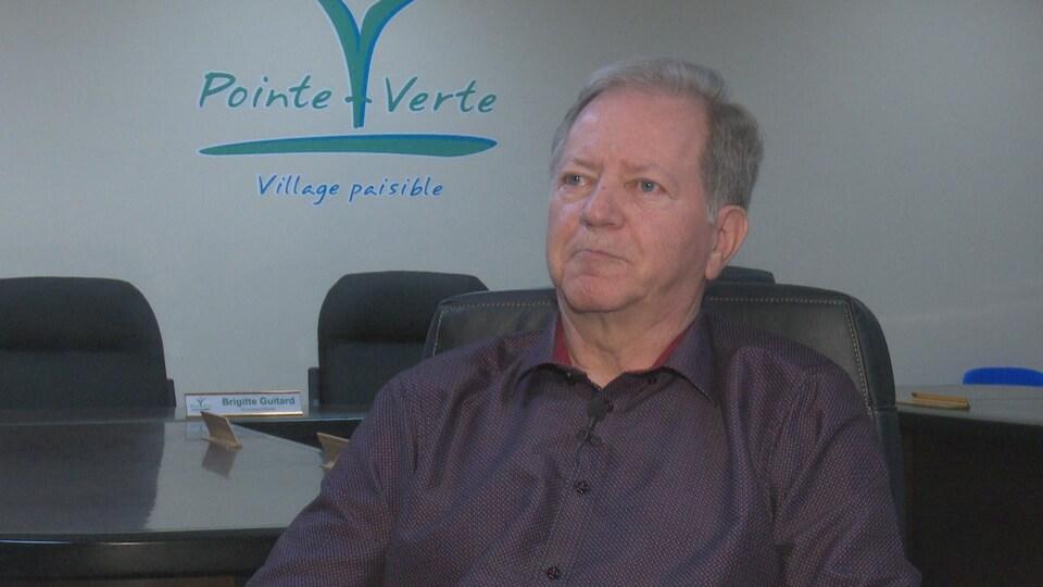 Normand Doiron, maire de Pointe-Verte.