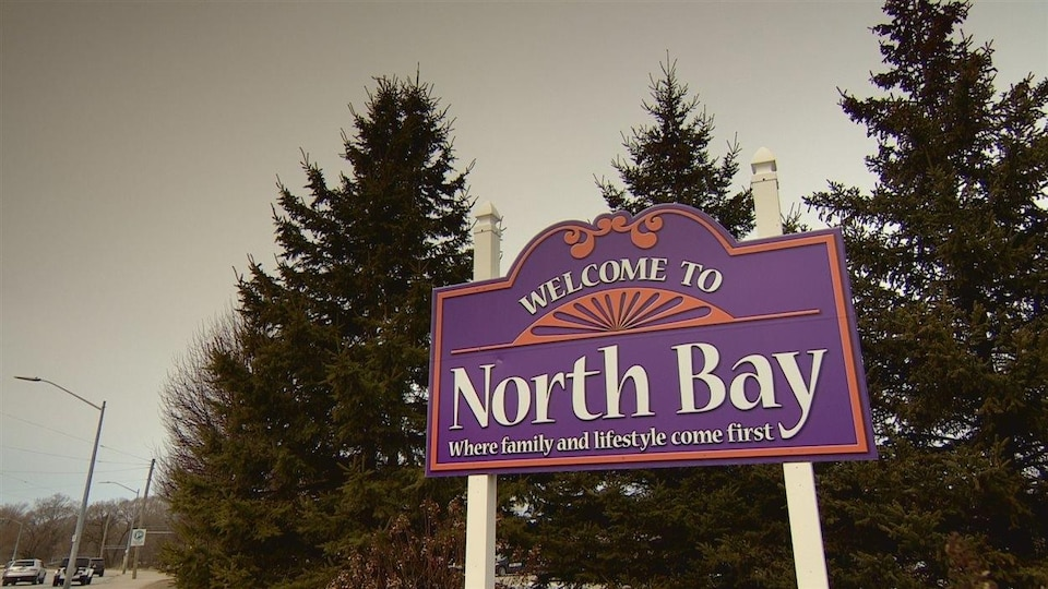 Pancarte de la Ville de North Bay