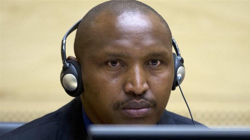 Bosco Ntaganda à son procès.