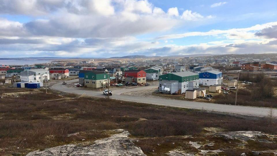 Le village de Kuujjuaq, dans le nord québécois