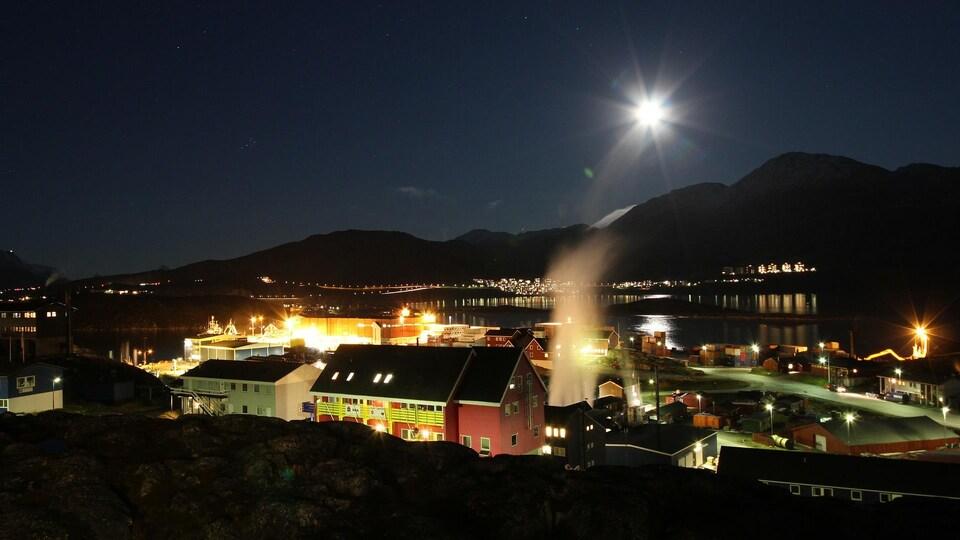La capitale du Groenland, Nuuk.