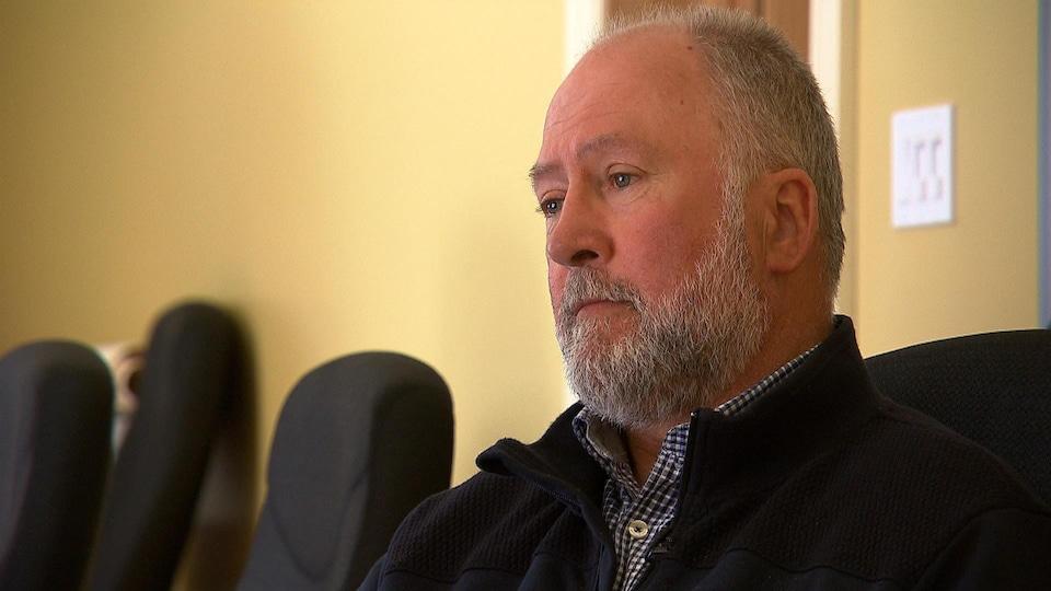 O'Neil Cloutier, directeur général du Regroupement des pêcheurs  professionnels du sud de la Gaspésie