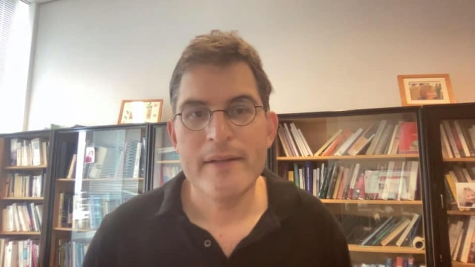Olivier Klein en entrevue Zoom.
