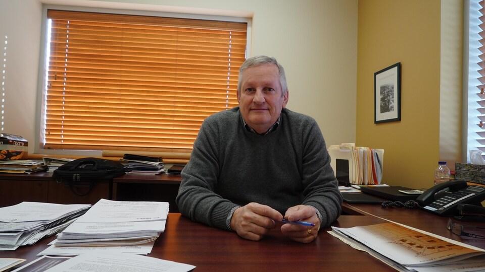 Le maire de Vallée-Jonction, Réal Bisson.