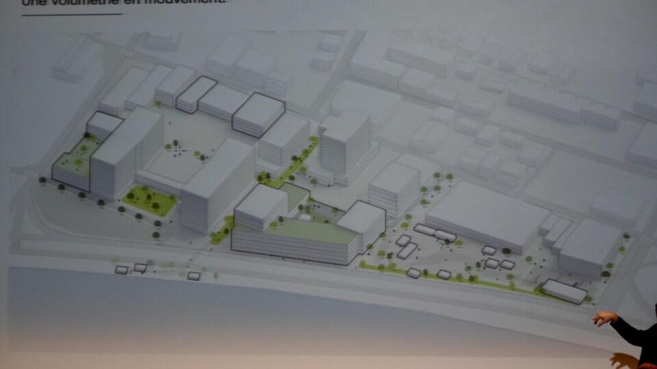 Plan de réaménagement de la Grande Place