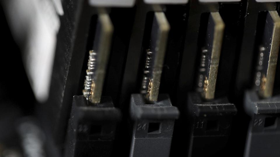 Des circuits d'ordinateur