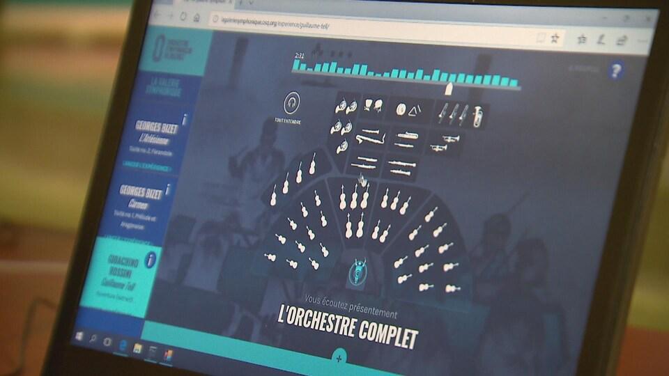 L'Orchestre symphonique de Québec annonce la création d'une plateforme éducative.