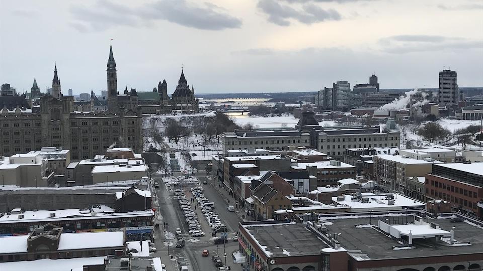 La ville d'Ottawa et le marché By.