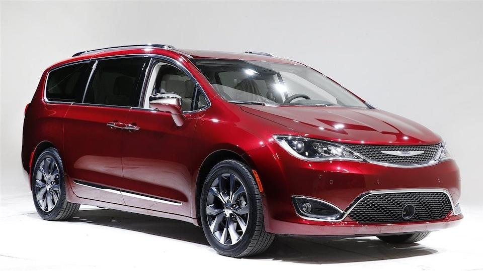 La minifourgonnette de Fiat-Chrysler Pacifica