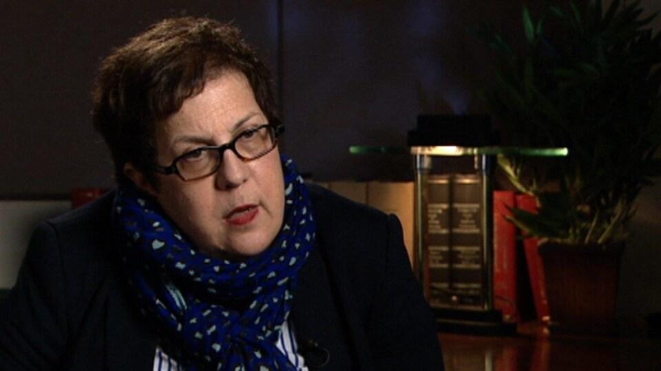 Diane Pacom professeure titulaire de sociologie à l'Université d'Ottawa.