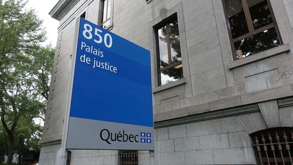 palais de justice de Trois-Rivières.