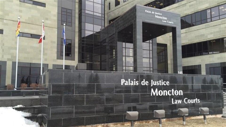 Le palais de justice de Moncton