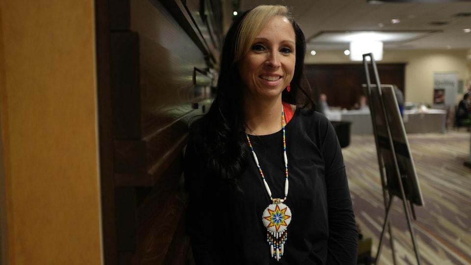 La militante et professeure micmaque Pamela Palmater.