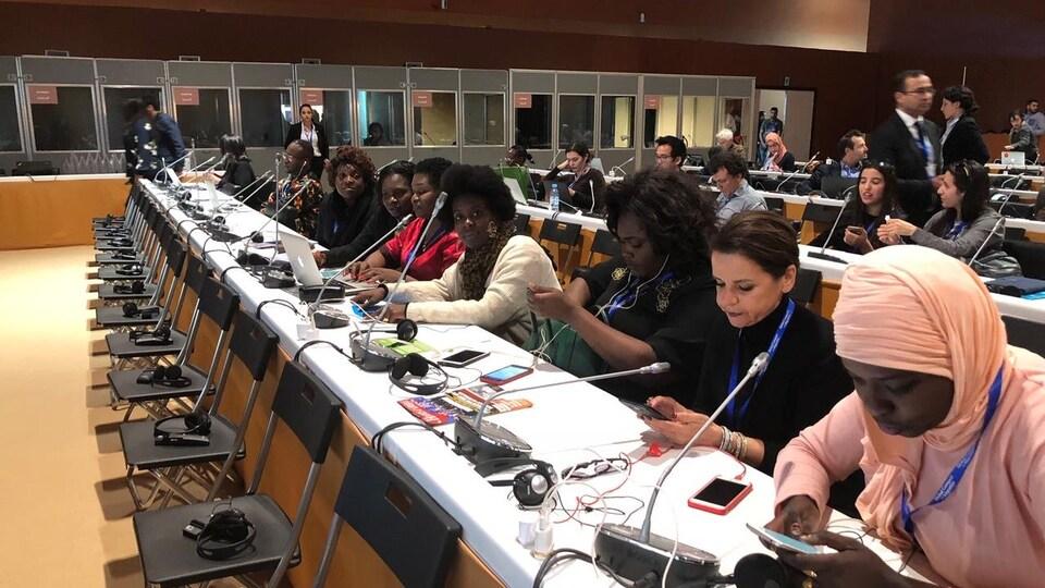 Les Panafricaines, c'est un réseau de 200 femmes journalistes représentant les 54 pays du continent africain.