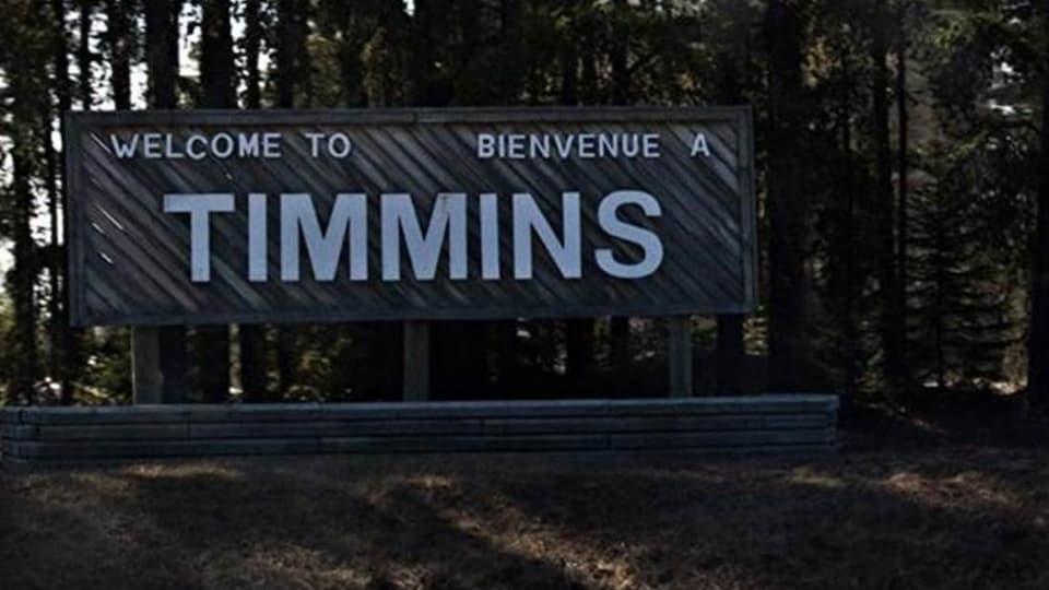 pancarte ville de Timmins