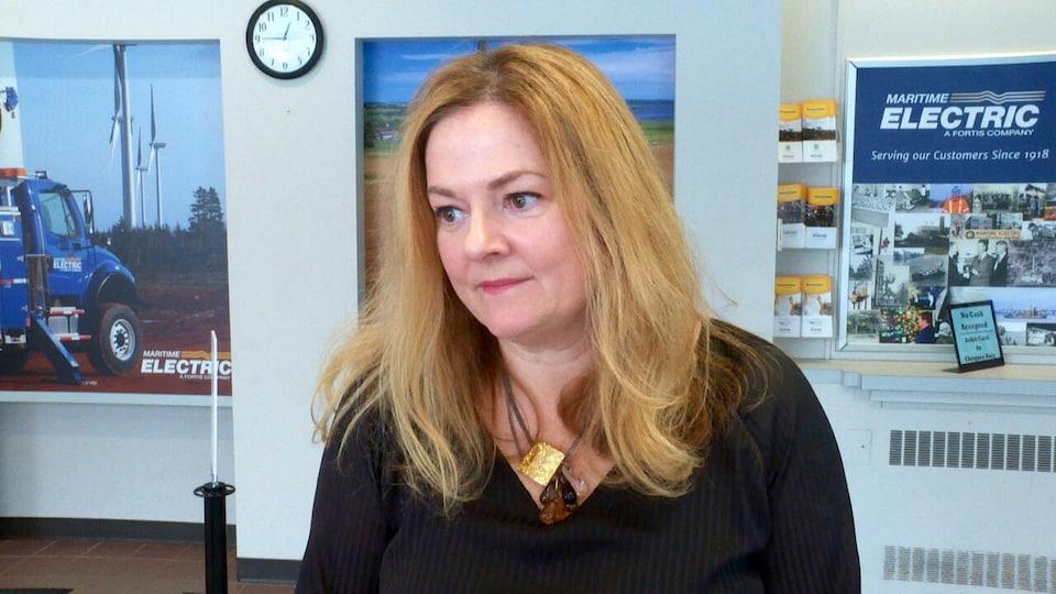 Kim Griffin, porte-parole de Maritime Electric.