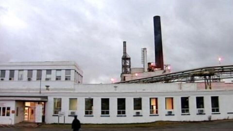 Photo d'archives de l'ancienne usine d'AbitibiBowater à Grand Falls-Windsor.