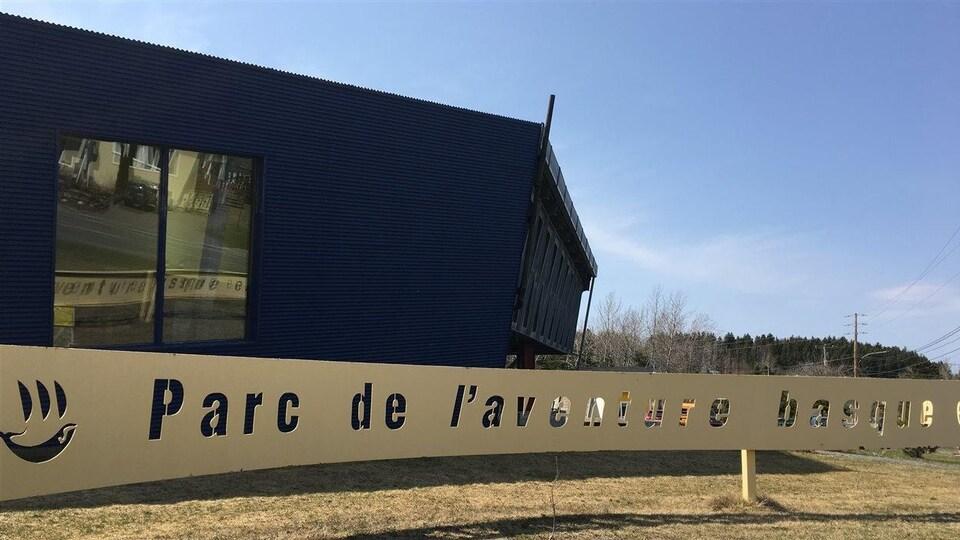 Le Parc de l'aventure basque de Trois-Pistoles