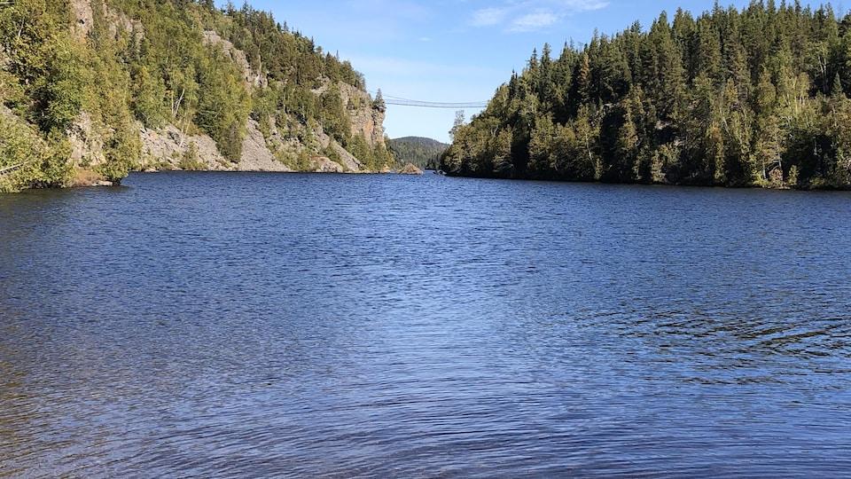 Le lac La Haie du Parc national d'Aiguebelle