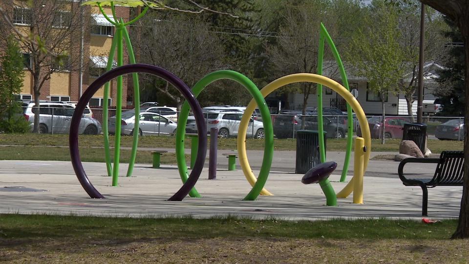 Le parc Pleasant Hill à Saskatoon.