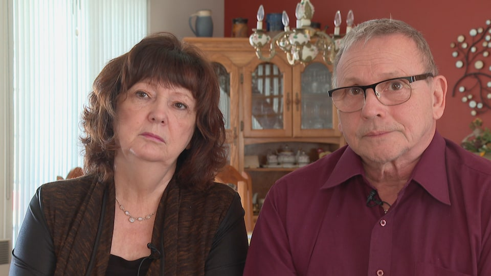 Les parents de Marilyn Bergeron, Andrée Béchard et Michel Bergeron