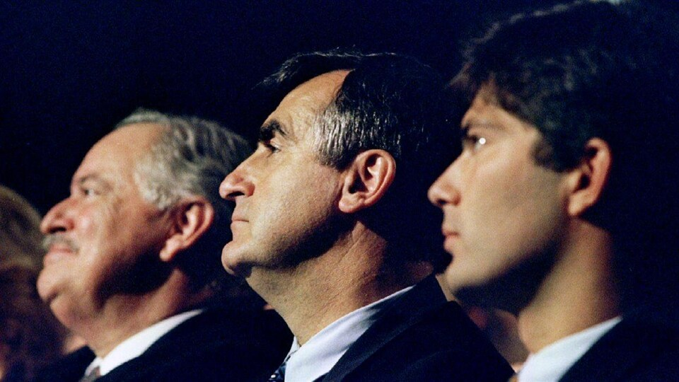 Jacques Parizeau, Lucien Bouchard, Mario Dumont