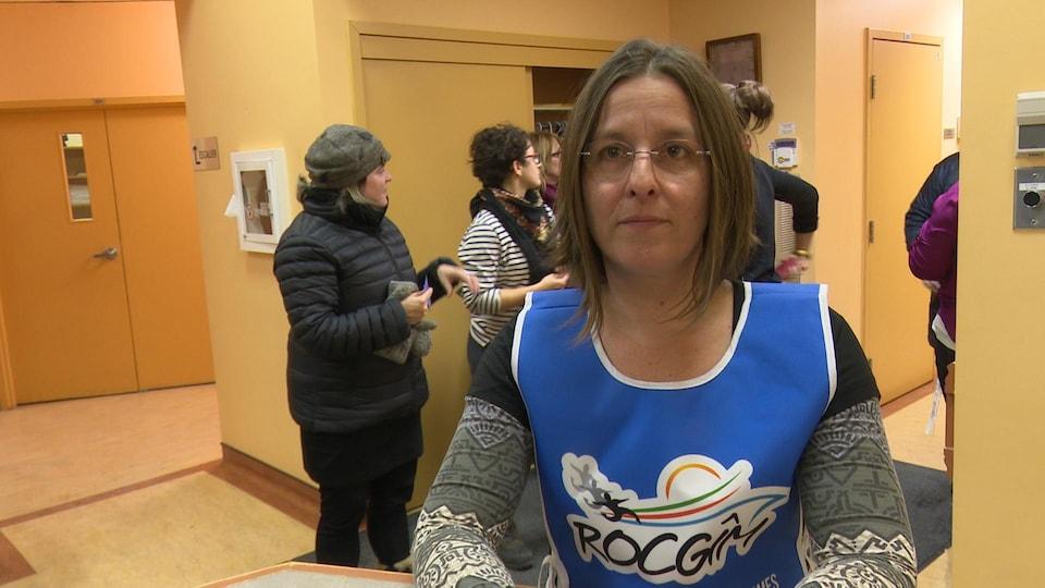 Geneviève Giguère, coordonnatrice du ROCGIM