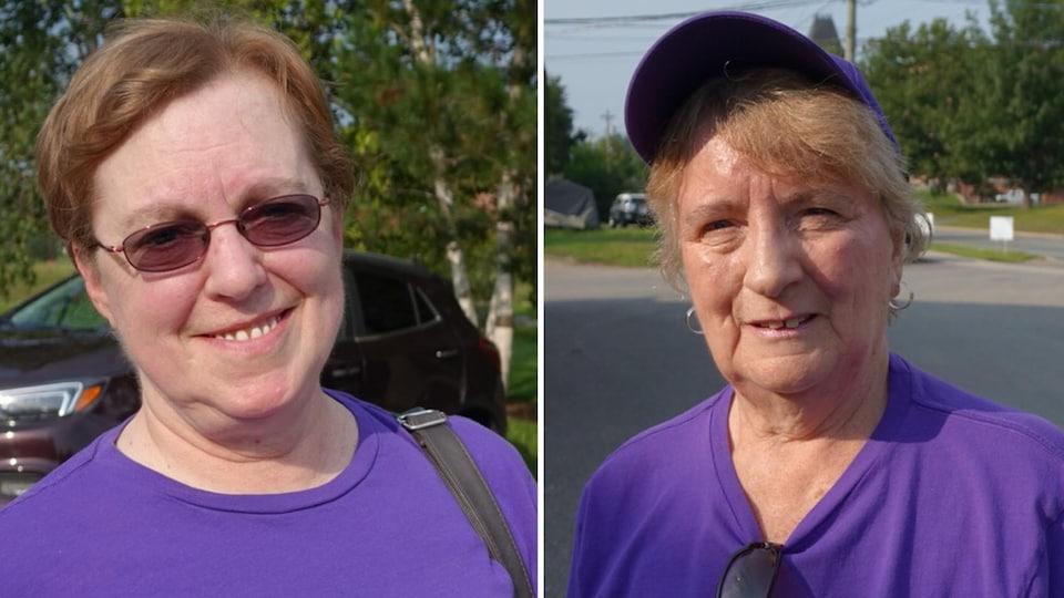 Kathy Webb et Faye King sont des militantes de l'Alliance des gens. Selon elles, le bilinguisme coûte trop cher.