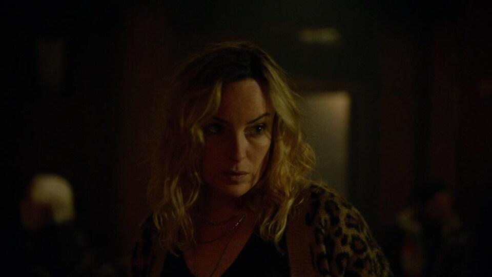 L'actrice Pascale Bussières dans une scène de « Bootlegger ».
