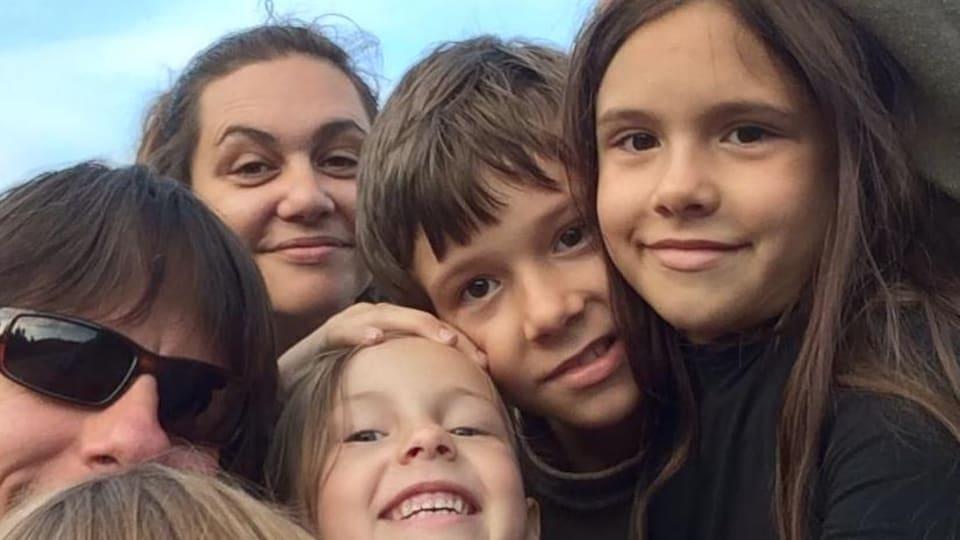 Pascale-Josée Binette et sa famille