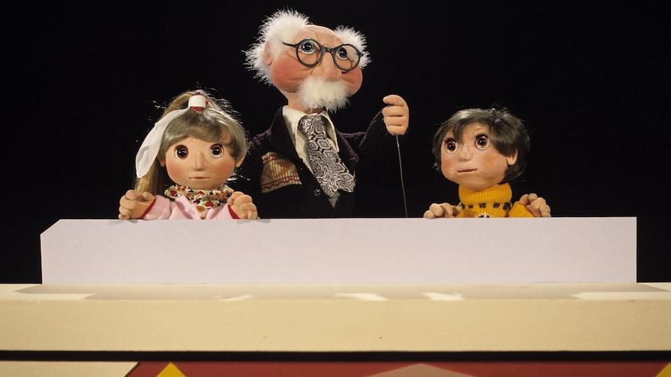 Cannelle, Grand-papa Bi et Pruneau