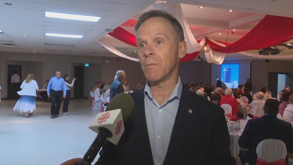 Pat Finnigan, député de Miramichi-Grand Lake.